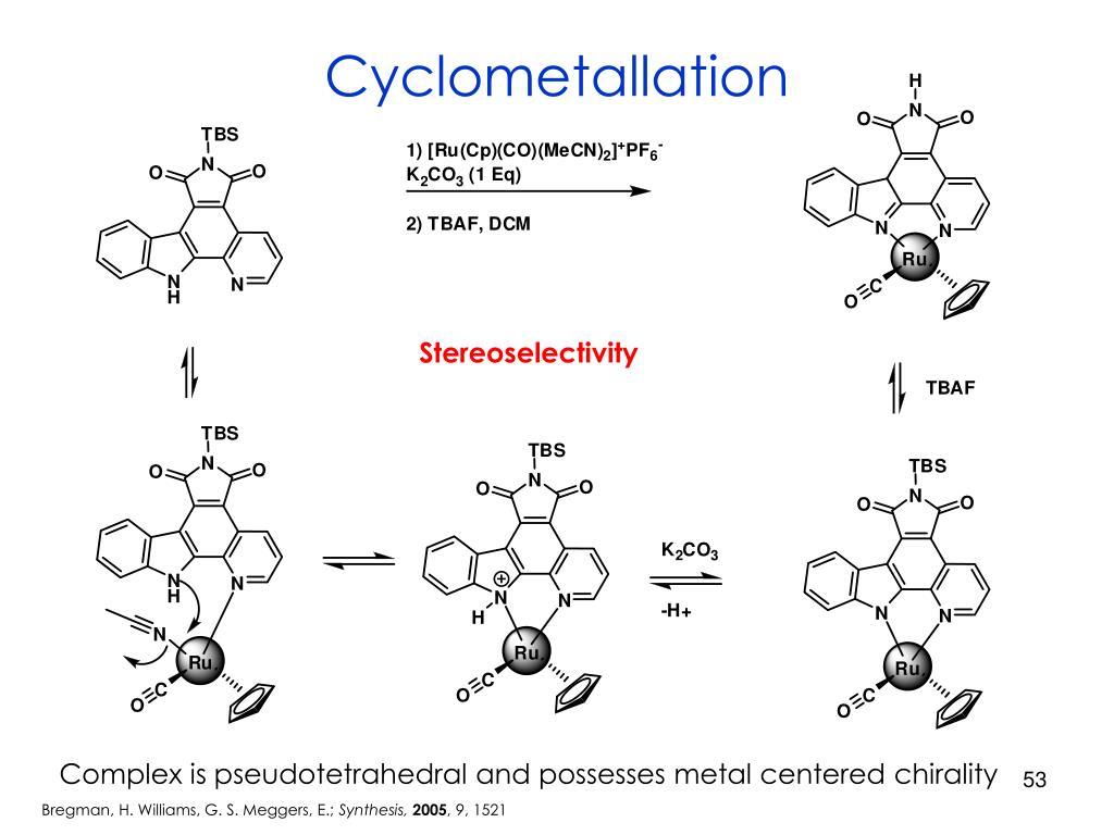 Cyclometallation