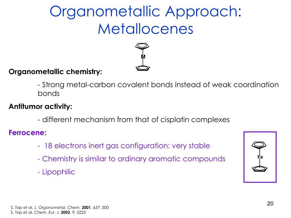 Organometallic Approach: Metallocenes