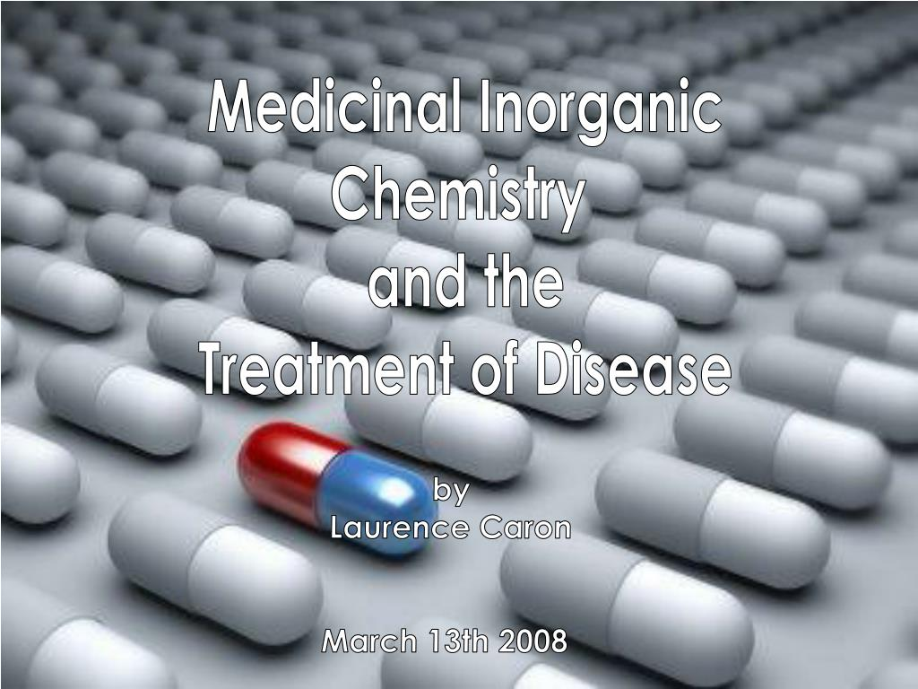Medicinal Inorganic