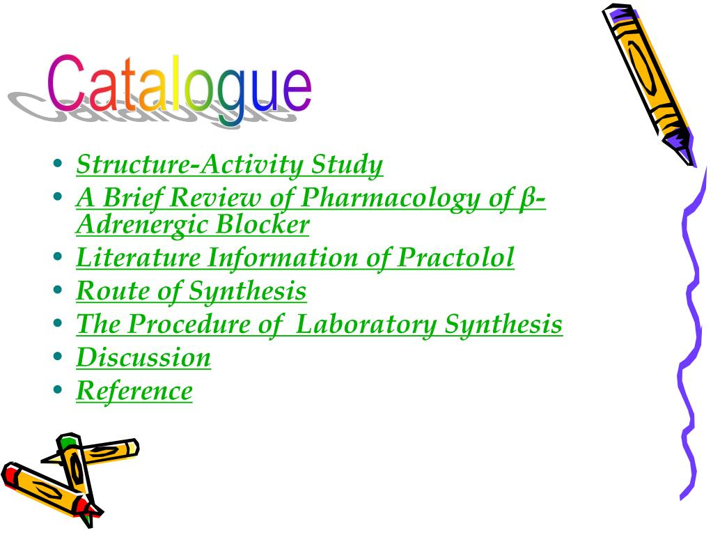 Structure-Activity Study