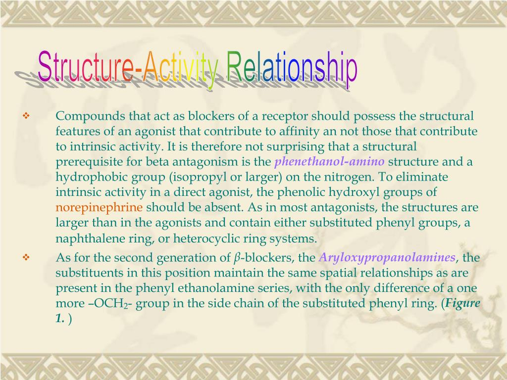 Structure-Activity Relationship