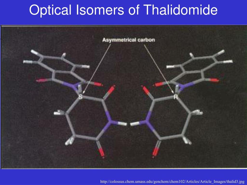 Optical Isomers of Thalidomide
