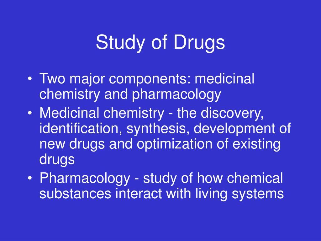 Study of Drugs
