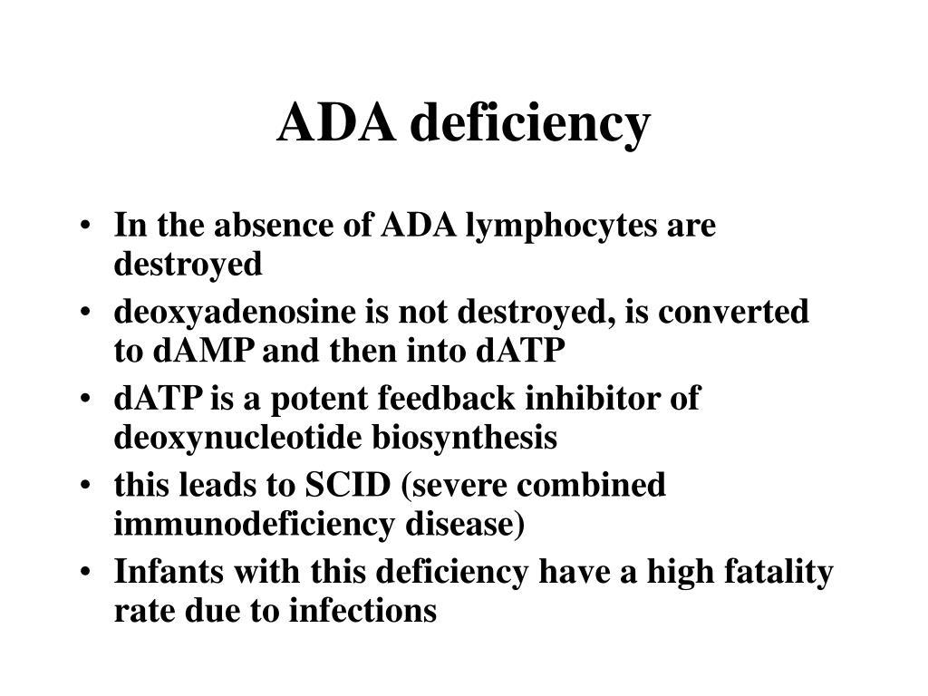 ADA deficiency