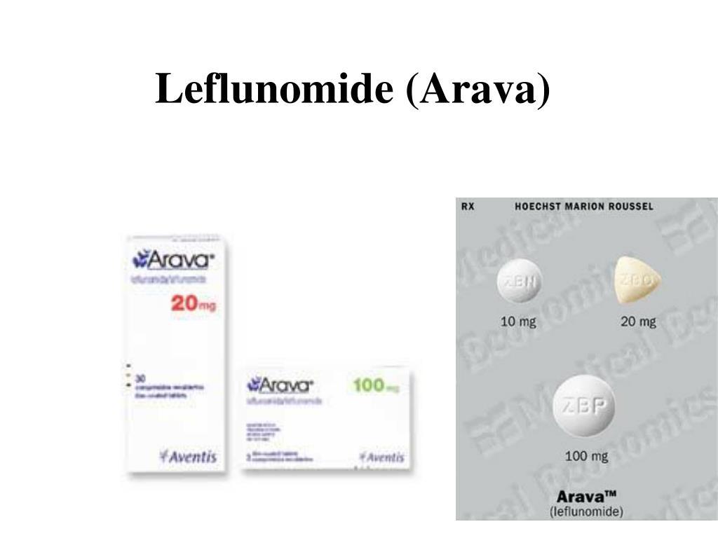 Leflunomide (Arava)