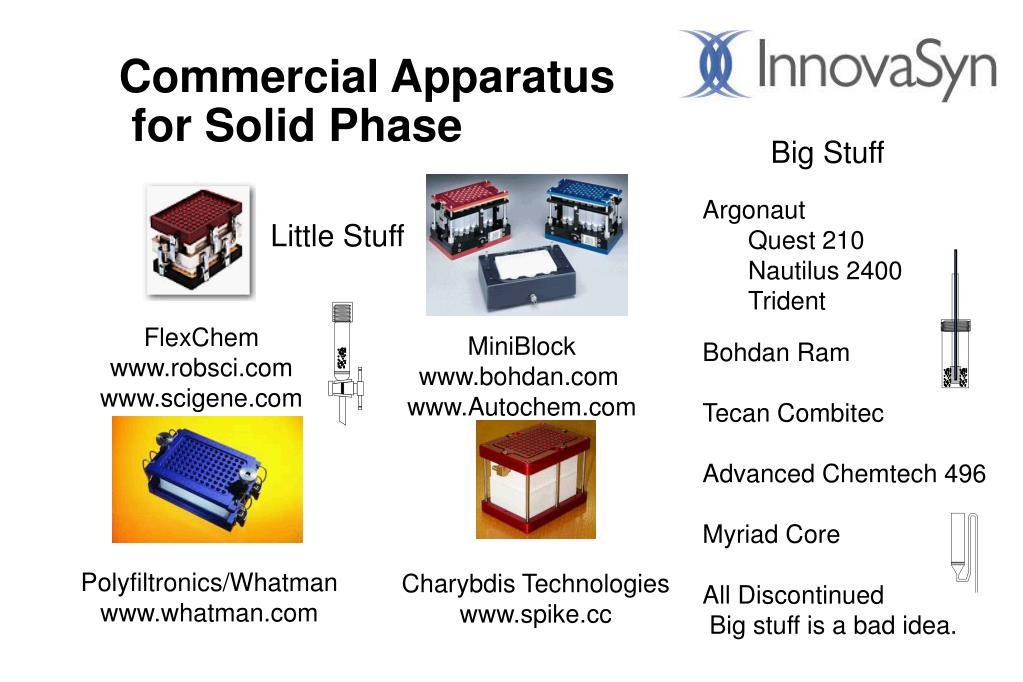Commercial Apparatus