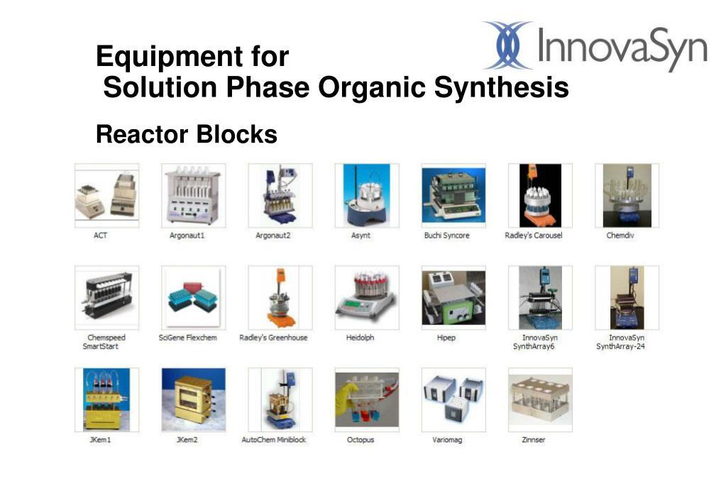 Equipment for