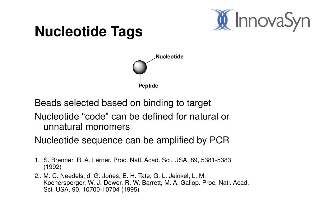 Nucleotide Tags