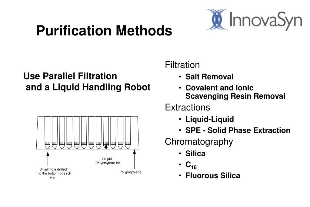 Purification Methods