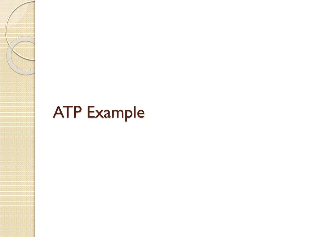 ATP Example