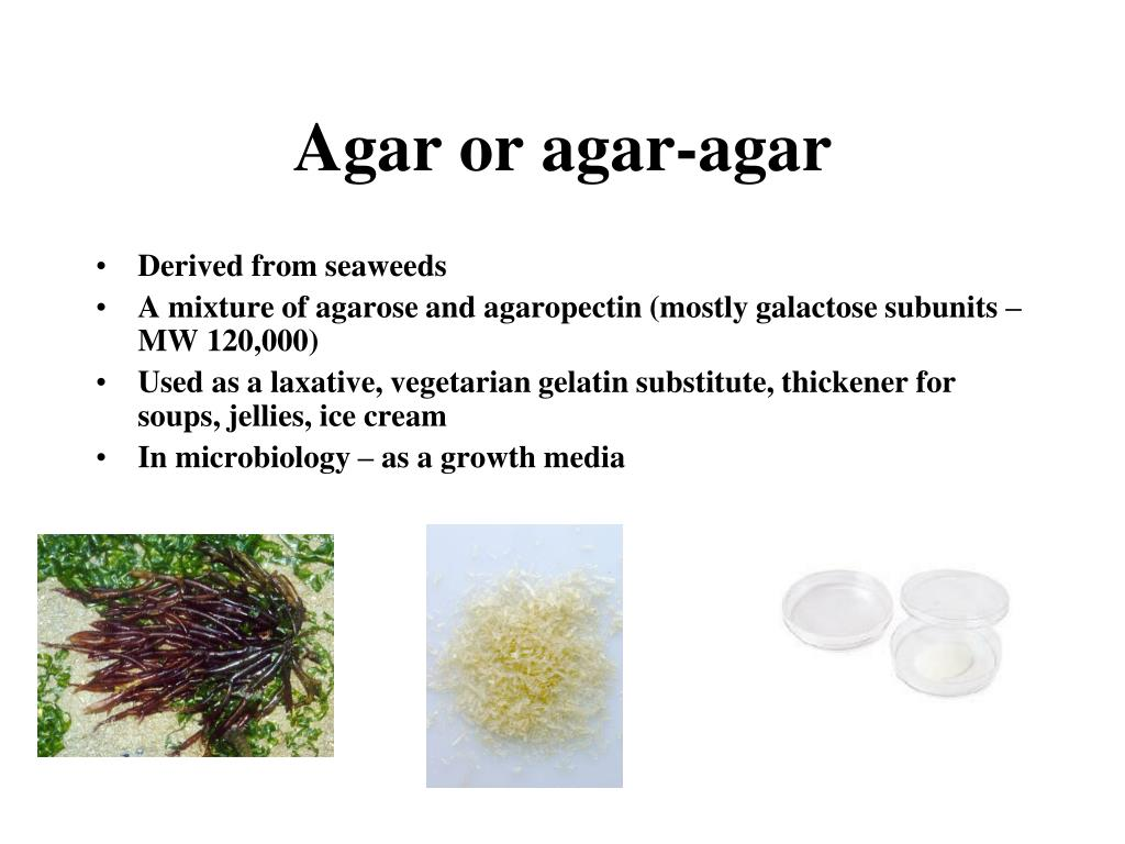 Agar or agar-agar
