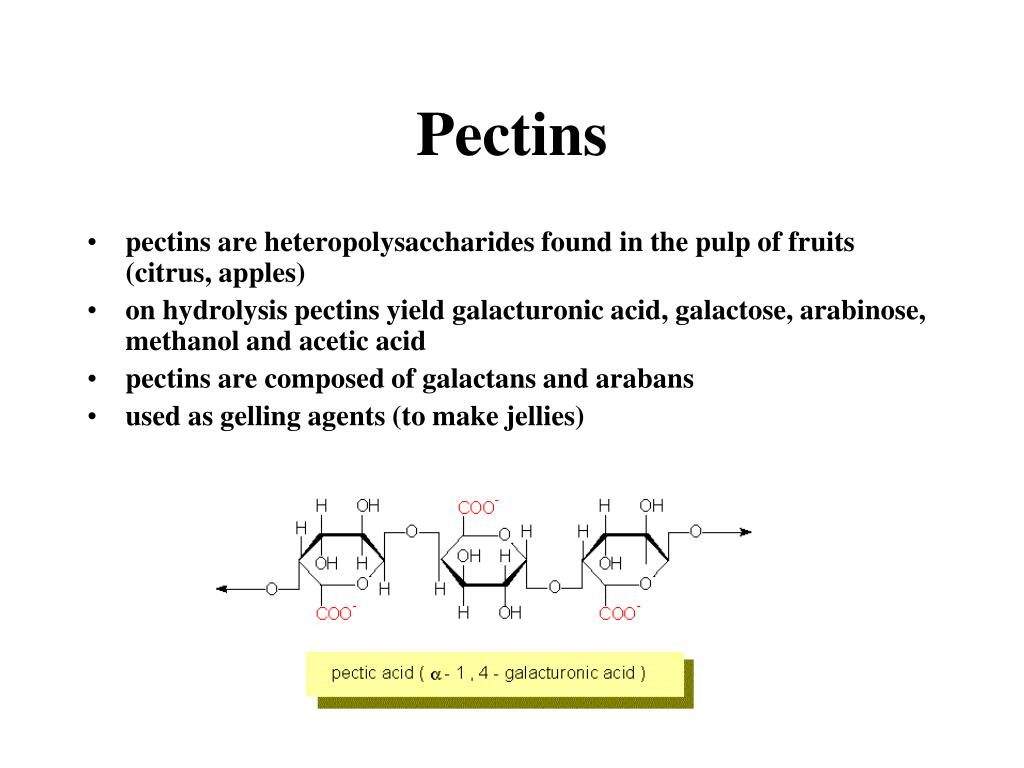 Pectins