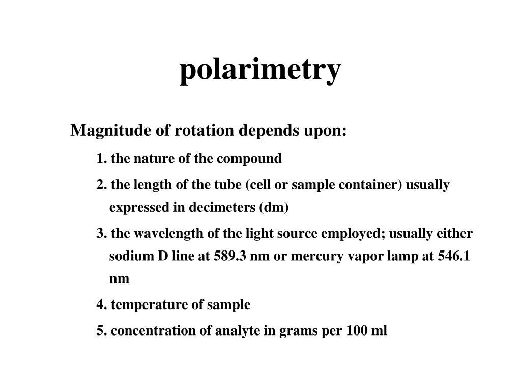 polarimetry