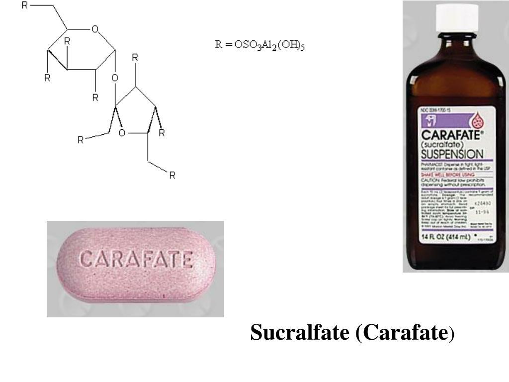 Sucralfate (Carafate