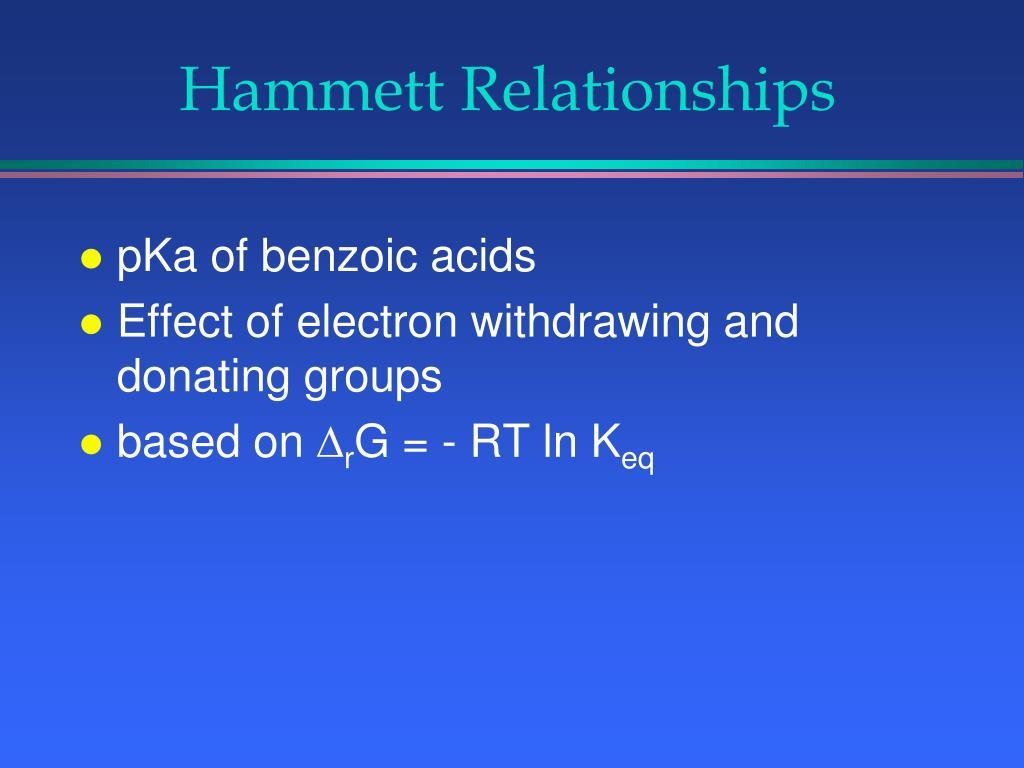 Hammett Relationships
