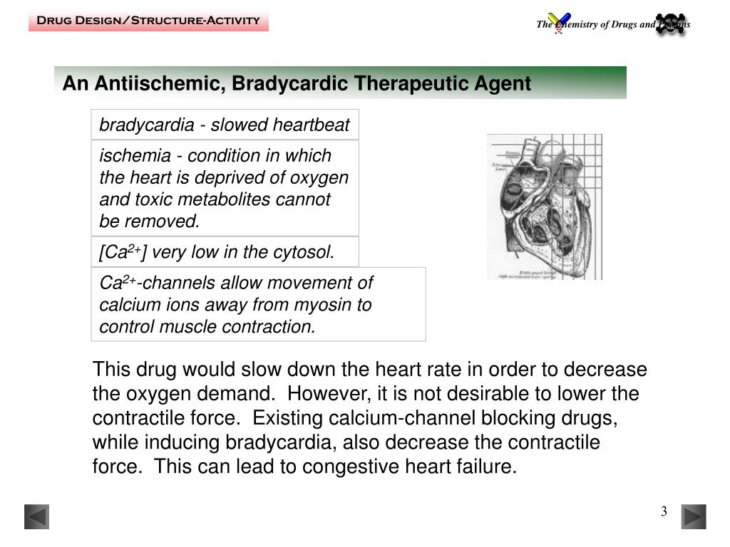An Antiischemic, Bradycardic Therapeutic Agent