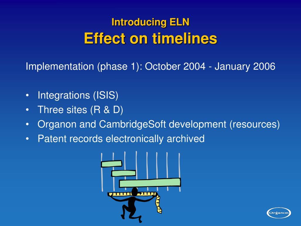 Introducing ELN