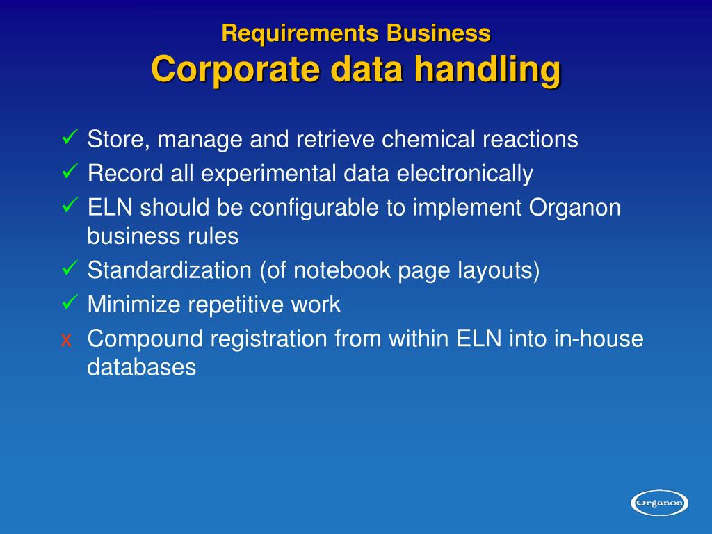 Requirements Business