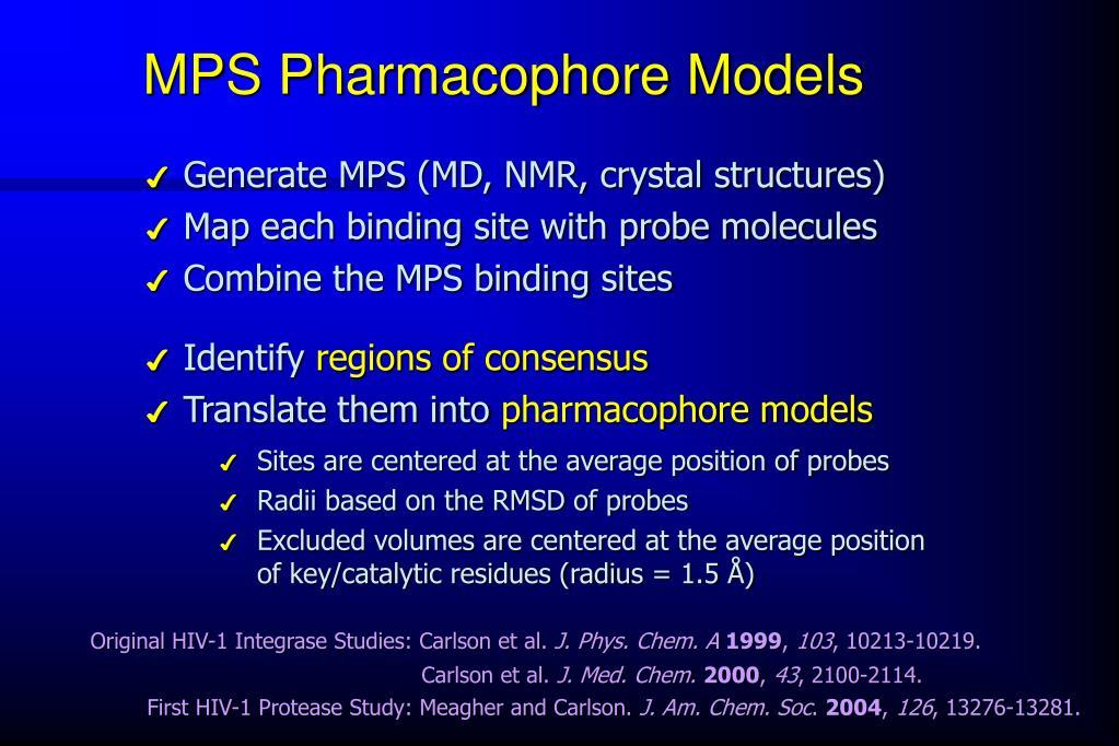 MPS Pharmacophore Models