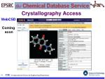 crystallography access11