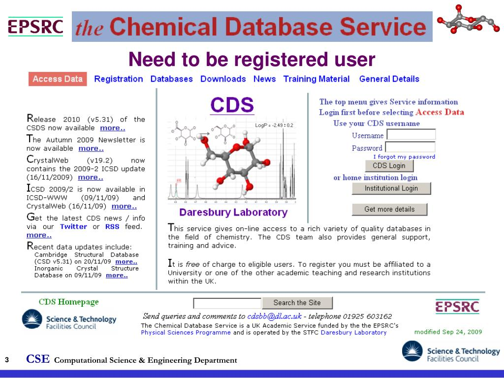 Need to be registered user