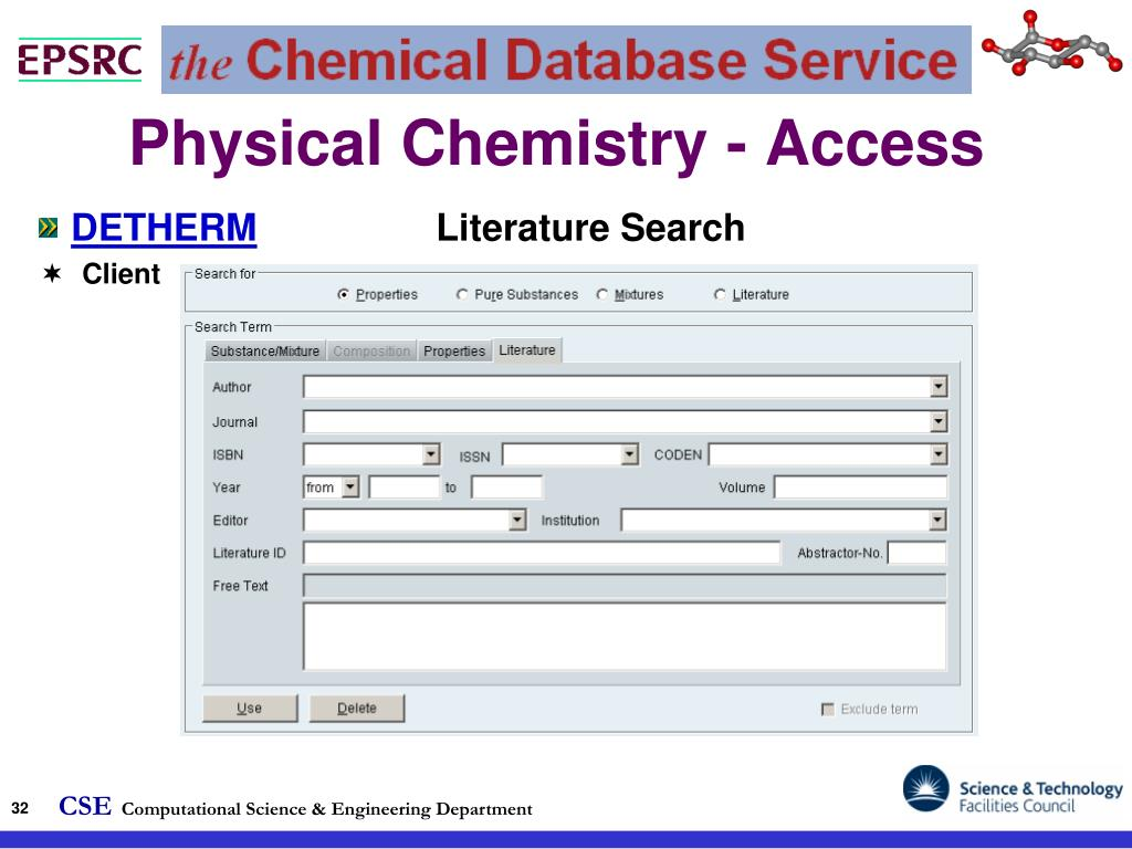 Physical Chemistry - Access
