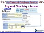 physical chemistry access33