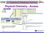 physical chemistry access34