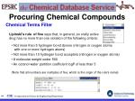procuring chemical compounds64