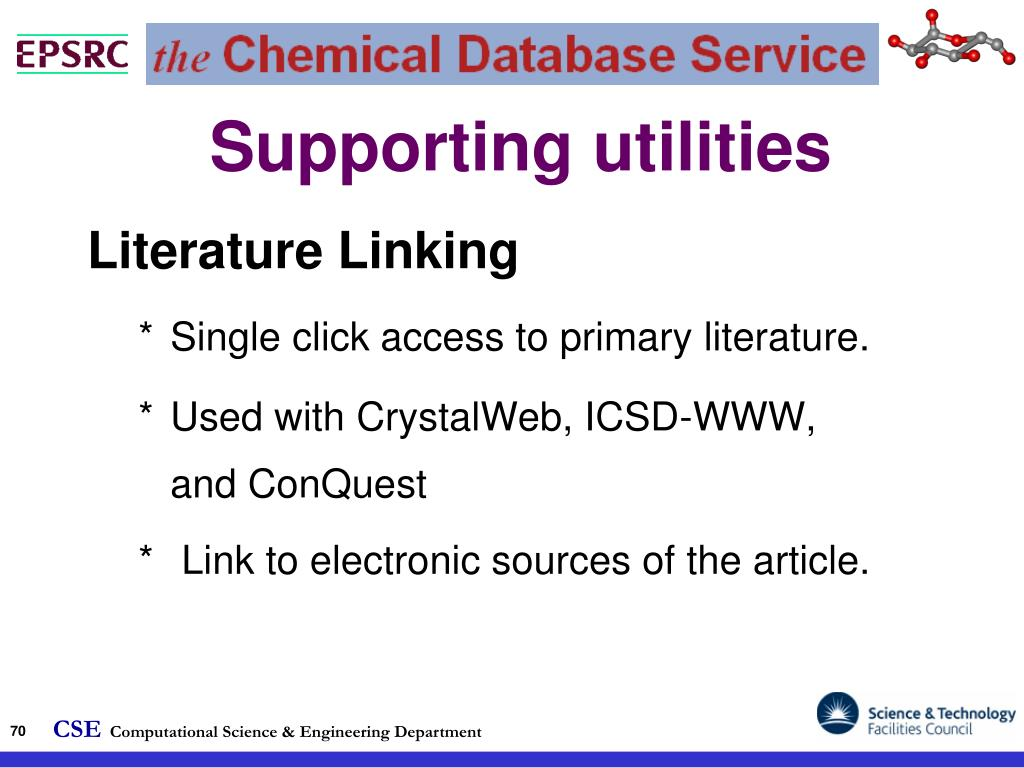Supporting utilities