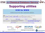 supporting utilities71