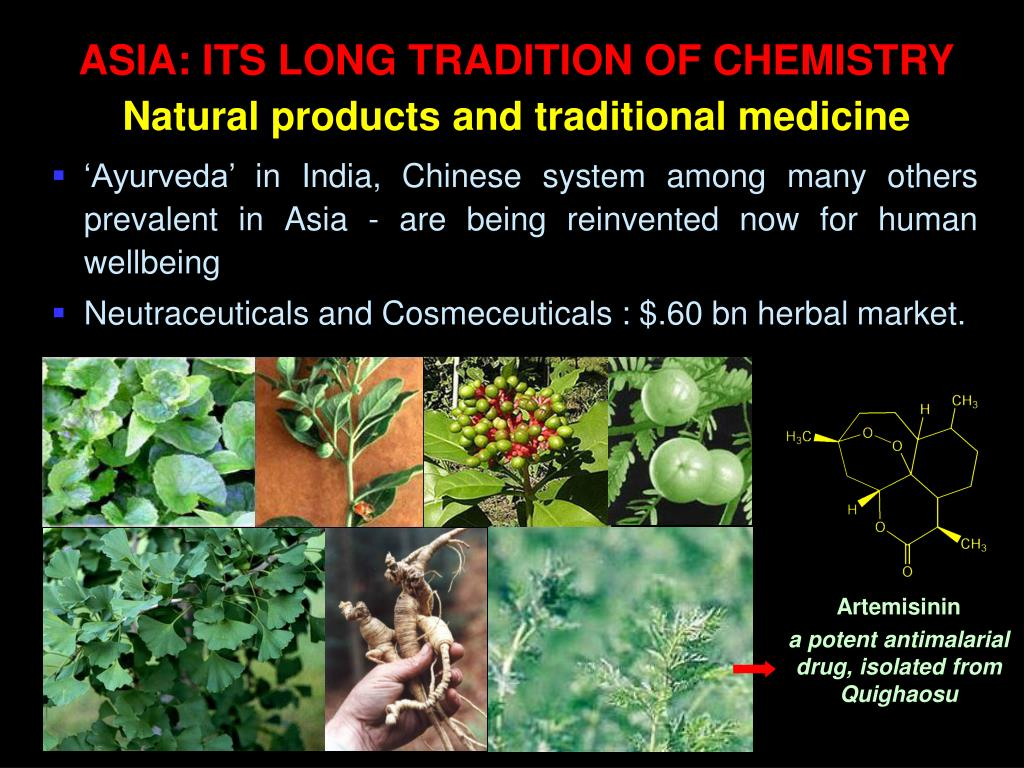 ASIA: ITS LONG TRADITION OF CHEMISTRY