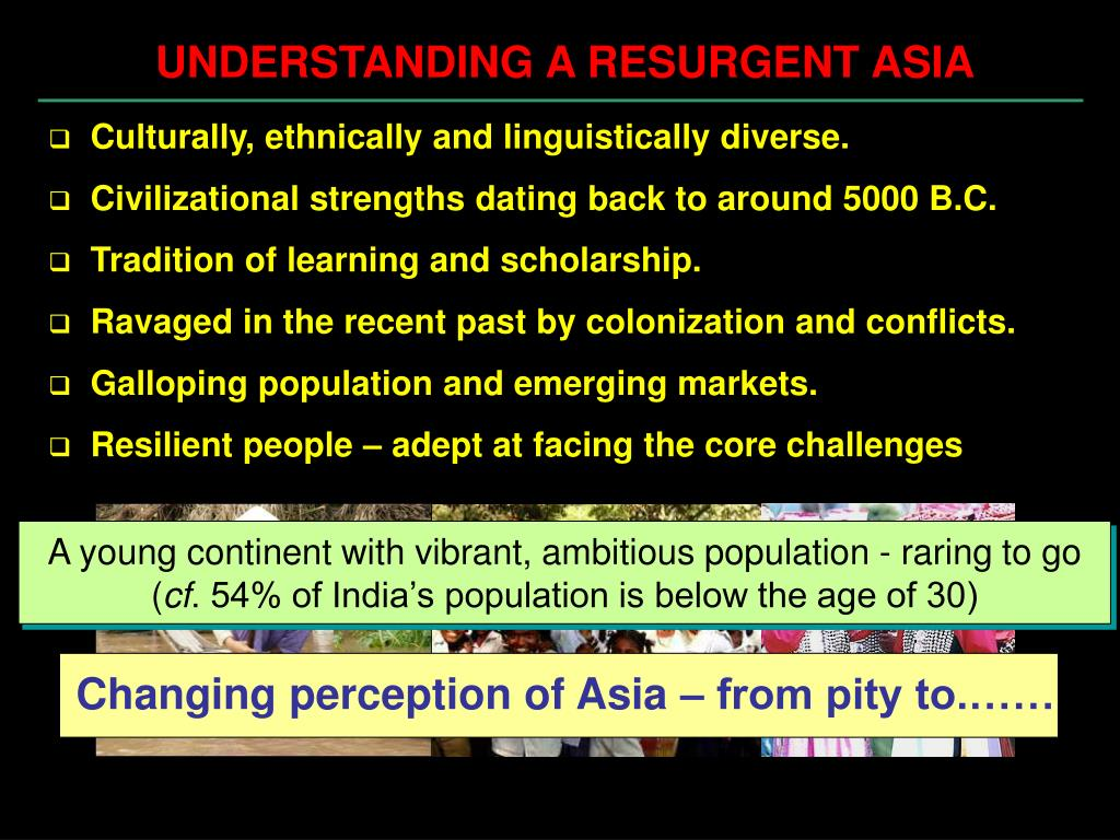 Changing perception of Asia – from pity to.……