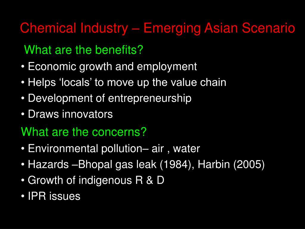 Chemical Industry – Emerging Asian Scenario