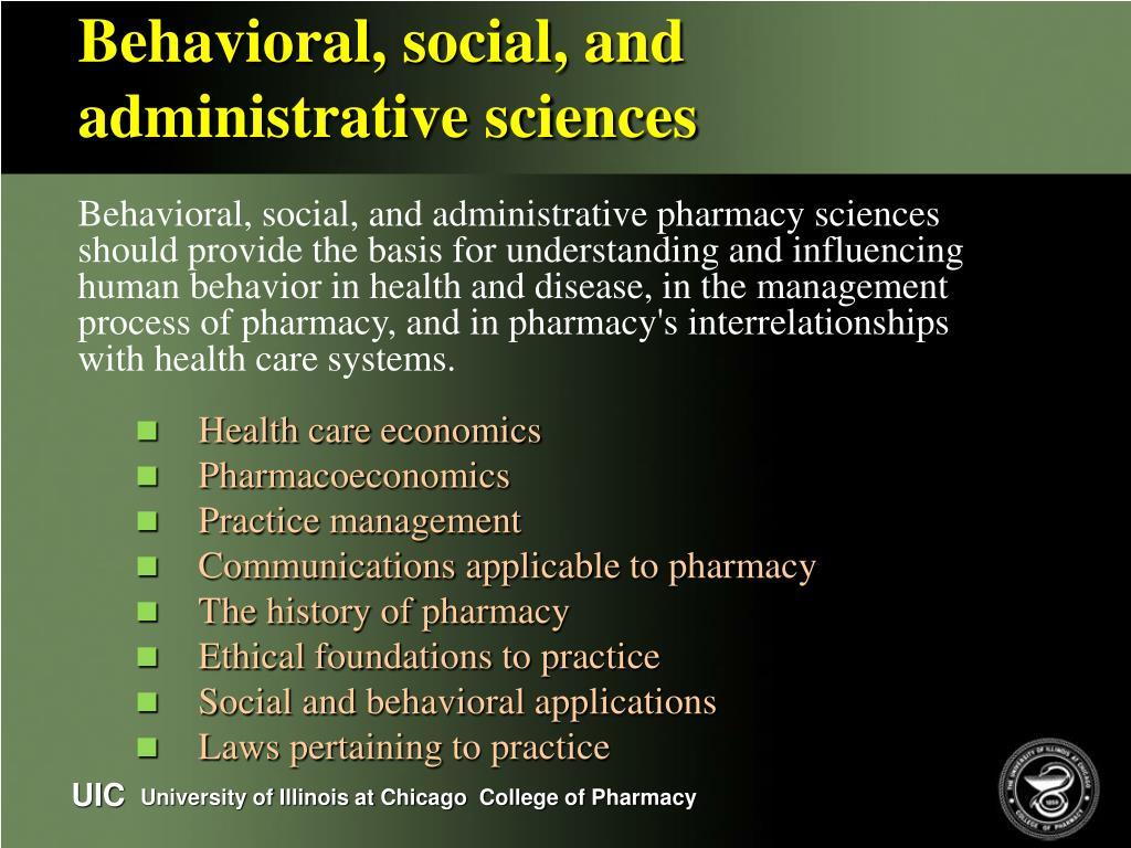 Behavioral, social, and
