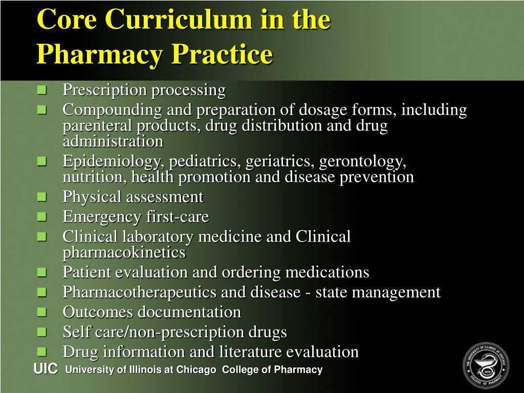 Core Curriculum in the