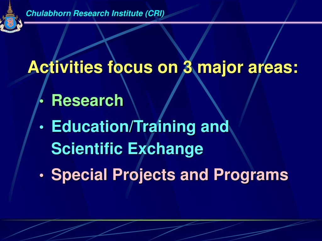 Chulabhorn Research Institute (CRI)
