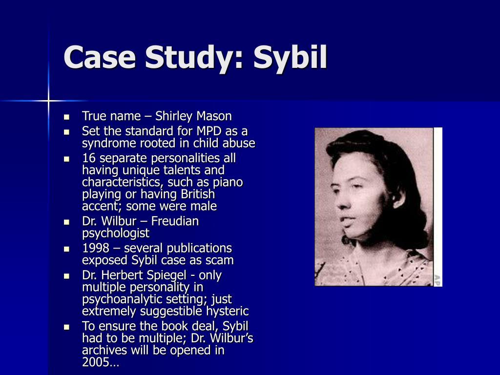 Case Study: Sybil