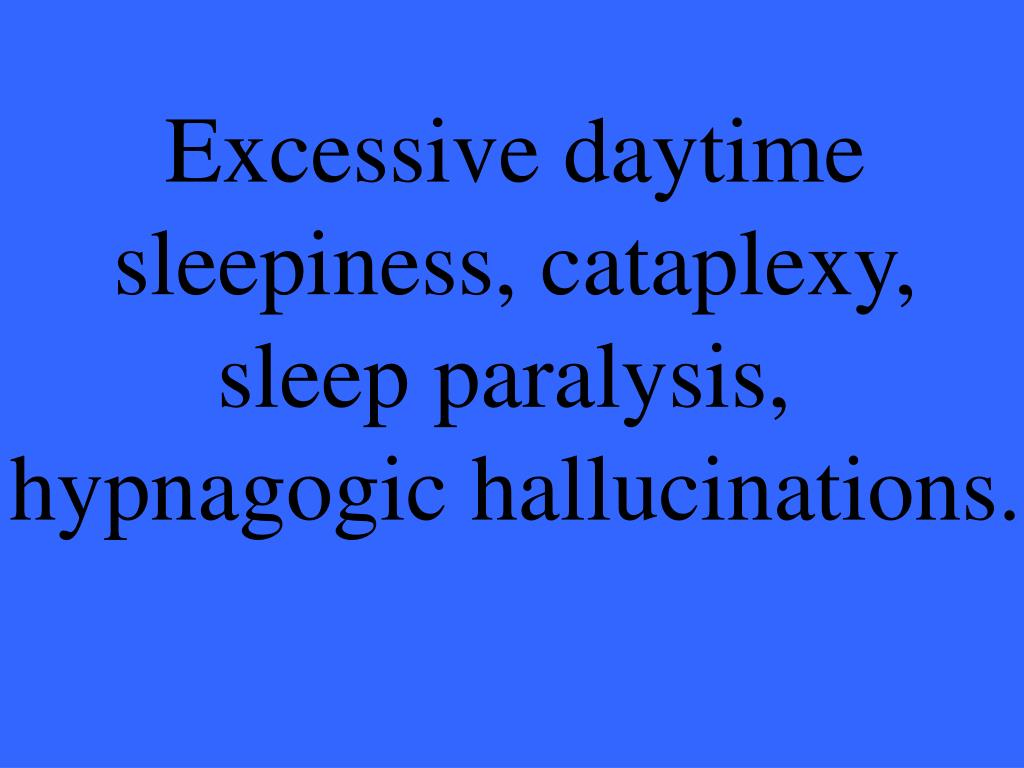 Excessive daytime