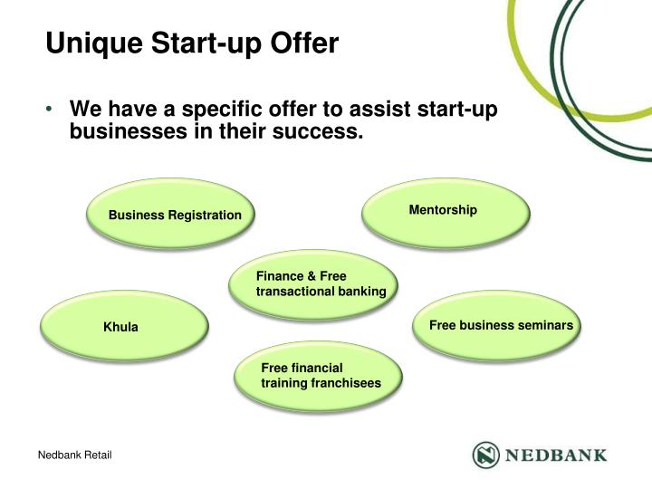 Unique Start-up Offer