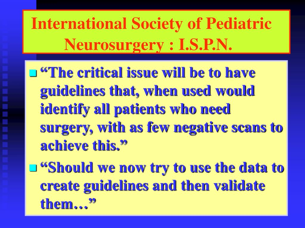 International Society of Pediatric