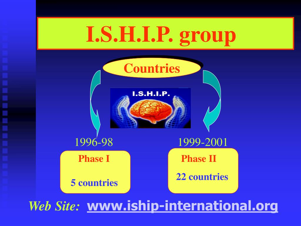 I.S.H.I.P. group
