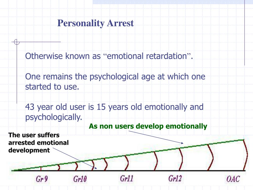 Personality Arrest