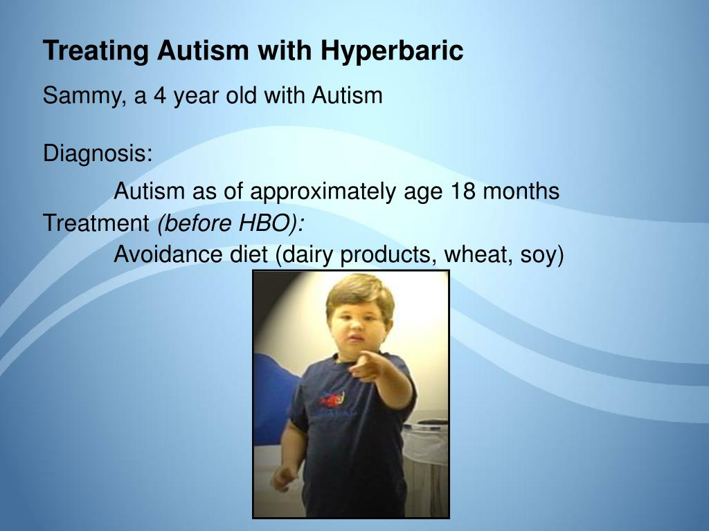 Treating Autism with Hyperbaric