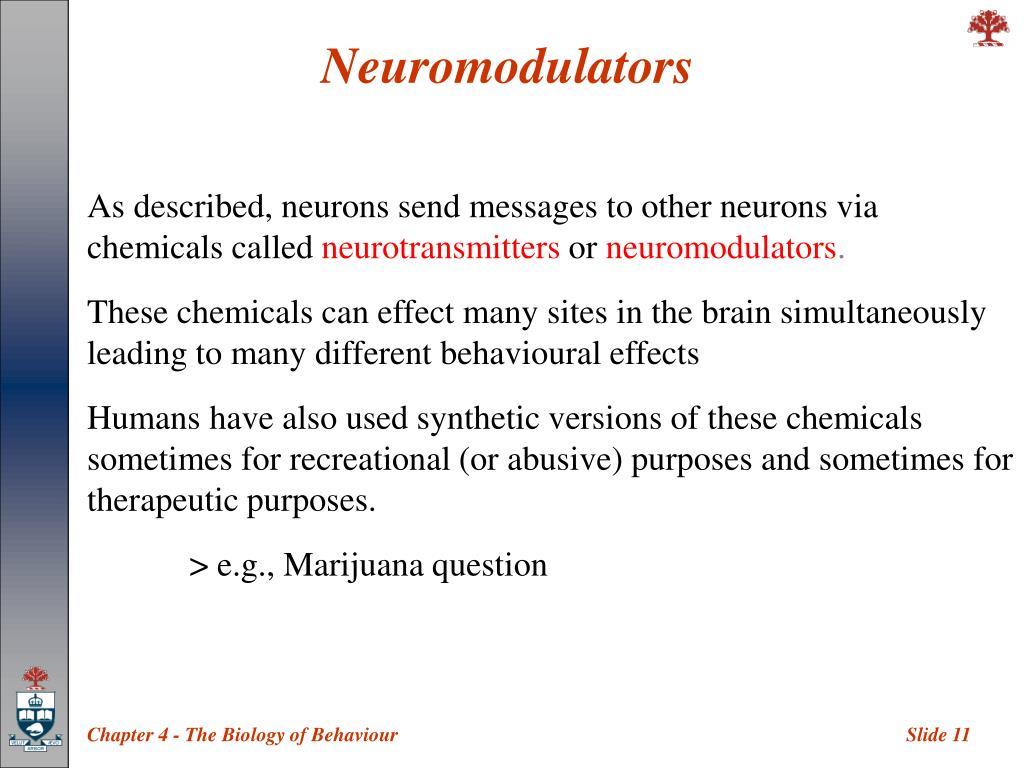 Neuromodulators