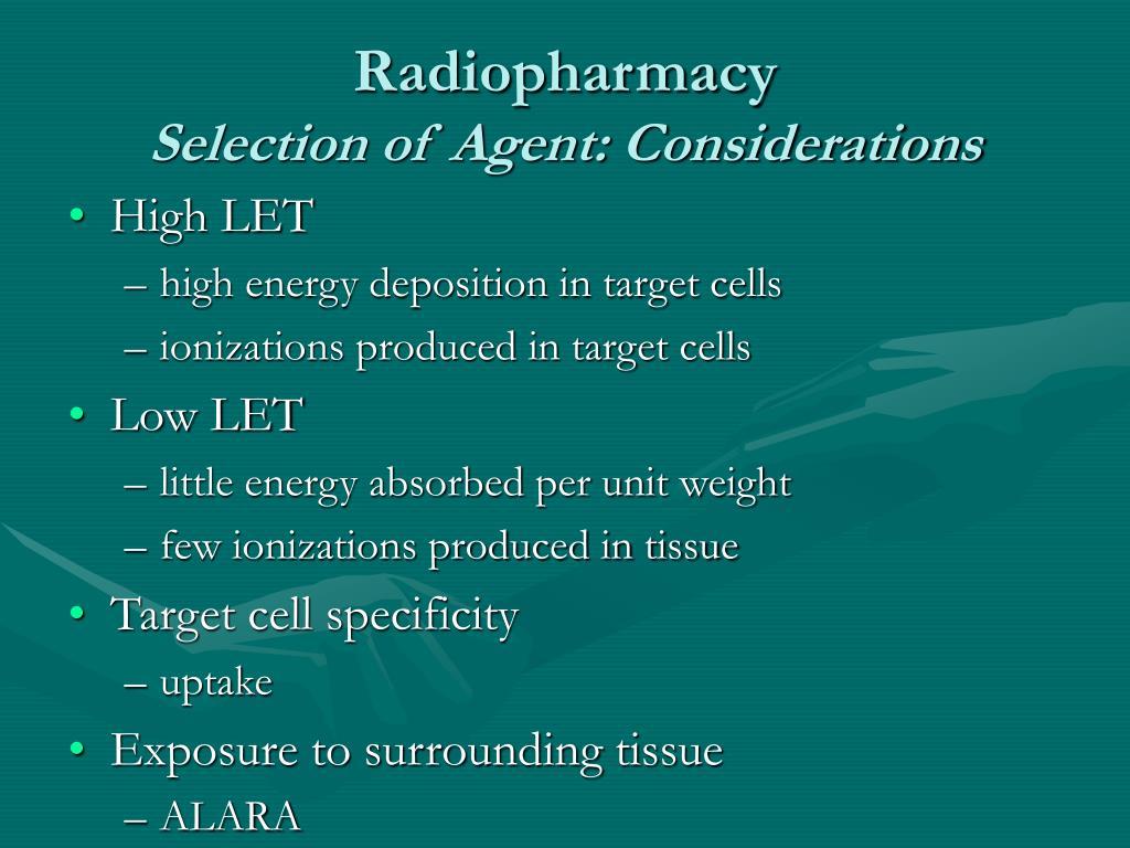 Radiopharmacy
