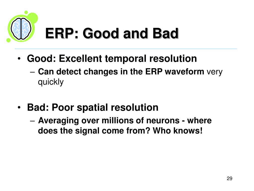 ERP: Good and Bad