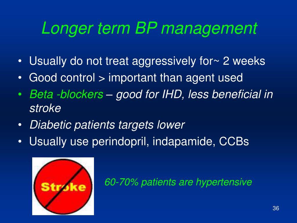 Longer term BP management