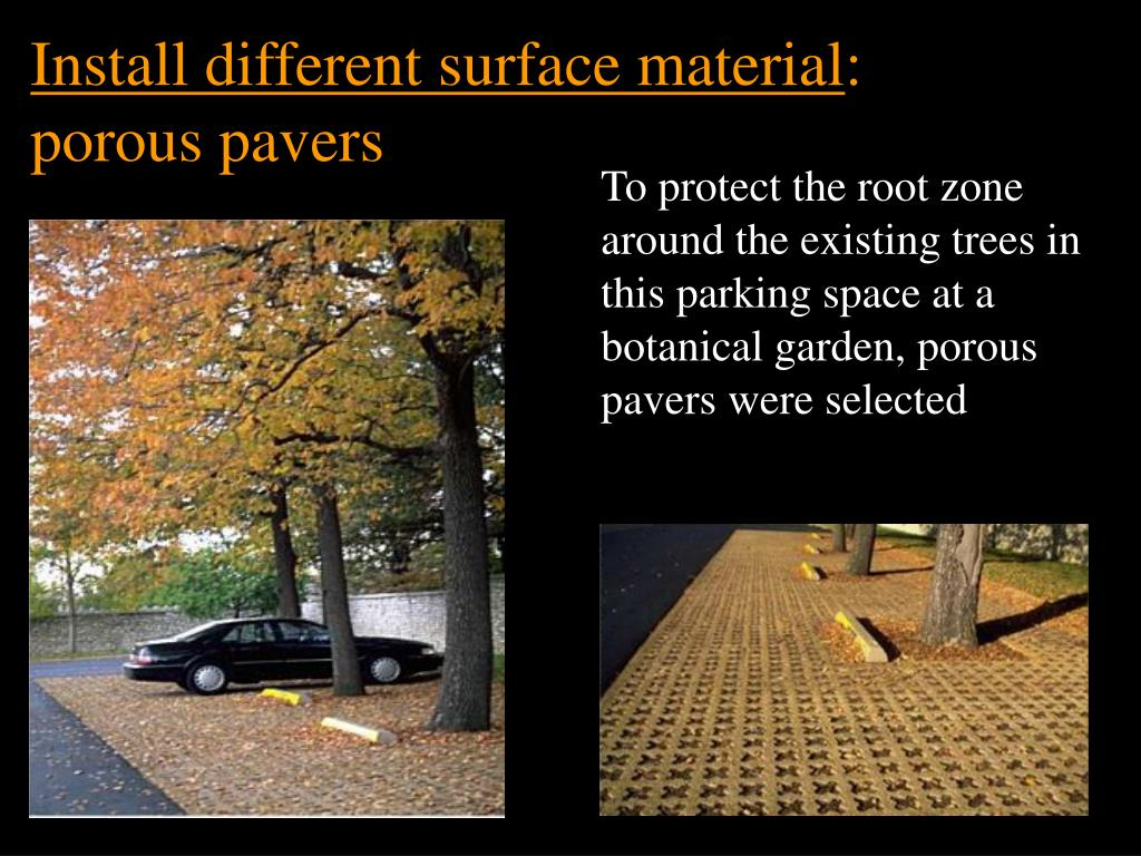 Install different surface material