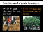 solutions can happen in two ways